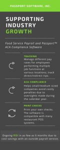 Food Service Payroll & ACA Compliance software