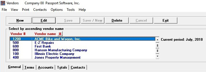 Accounts payable software for small business screenshot