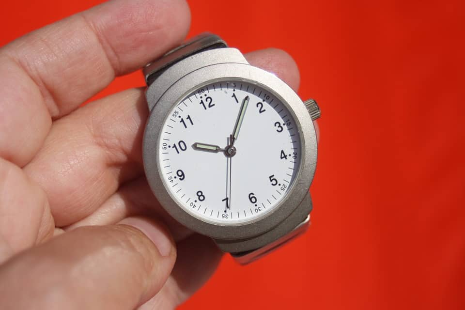 A stopwatch counting down time for ACA deadlines