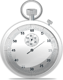 A stopwatch counting down the ACA filing deadlines