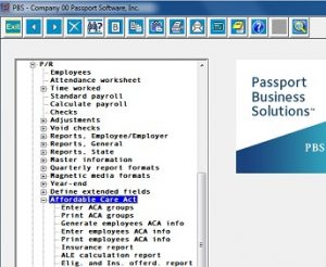 Passport Software's ACA Reporting Services software