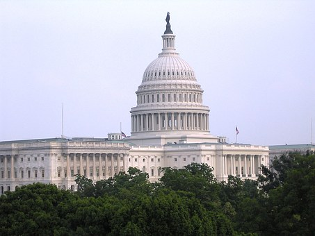 Picture of US capitol which rules on the ACA