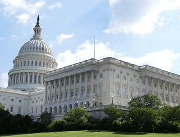Picture of the US capitol that rules on the ACA