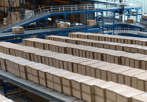 Picture of a warehouse that uses mrp manufacturing software