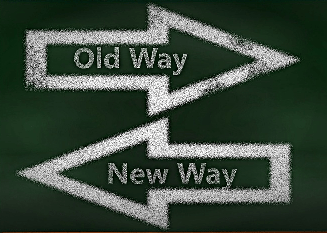 Arrows pointing the way