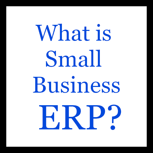 "Image of a quote ""What is Small Business ERP?"""