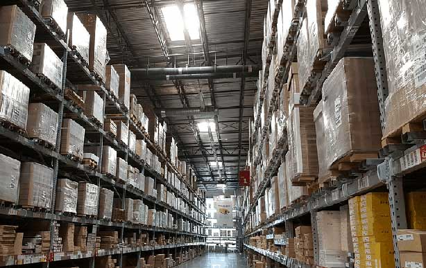 warehouse for a small distribution business